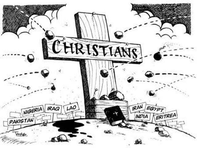 To Combat the Civil Attack against Christianity  We Must Stand Firm and Withstand Evil